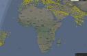 هواپیماهای در پرواز در آسمانها: انعکاسی از جغرافیای انسانی دنیای مدرن
